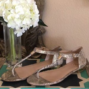 Vince Camuto Metallic Sandals